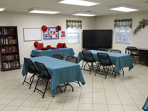 Joy Assisted Living Activity Room